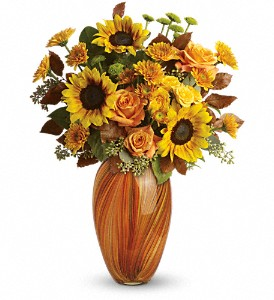 Teleflora's Golden Sunset Bouquet in Paso Robles CA, The Flower Lady