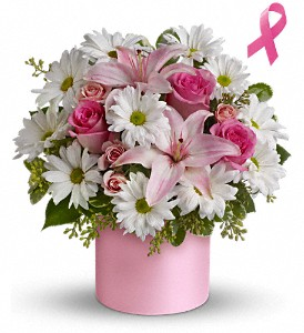 Teleflora's Pink Hope and Courage Bouquet in Quitman TX, Sweet Expressions