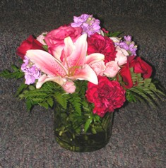 Strawberry Punch Bouquet in Lake Charles LA, A Daisy A Day Flowers & Gifts, Inc.