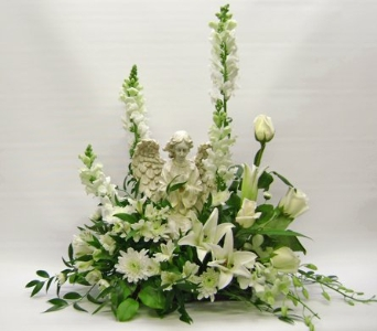 Angel of Peace in Herndon VA, Herndon Florist, Inc