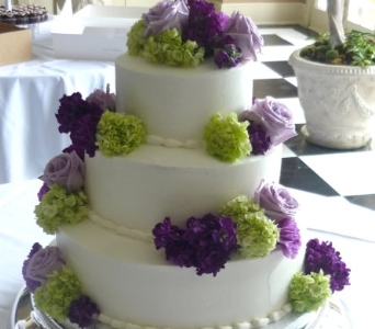 Cake decorations in Nashville TN, The Bellevue Florist