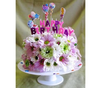 Special Birthday Cake in Amherst NY, The Trillium's Courtyard Florist