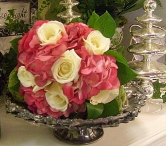 Attendant Bouquet of Roses and Hydrangea in Nashville TN, The Bellevue Florist