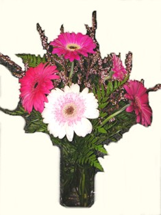 Tickled Pink Bouquet in Lake Charles LA, A Daisy A Day Flowers & Gifts, Inc.