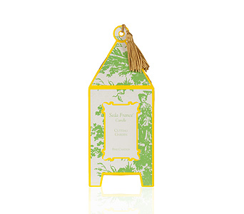 Seda France Cutting Garden Pagoda Candle in Pine Brook NJ, Petals Of Pine Brook