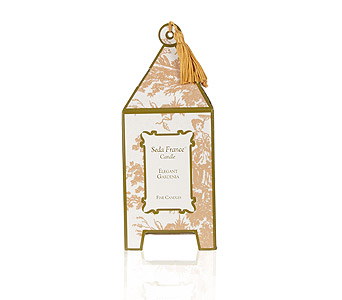 Seda France Elegant Gardenia Pagoda Candle in Pine Brook NJ, Petals Of Pine Brook
