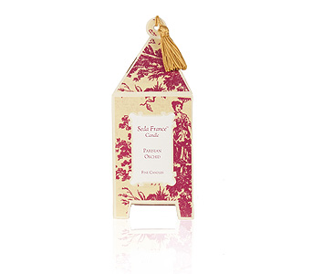 Seda France Parisian Orchid Pagoda Candle in Pine Brook NJ, Petals Of Pine Brook