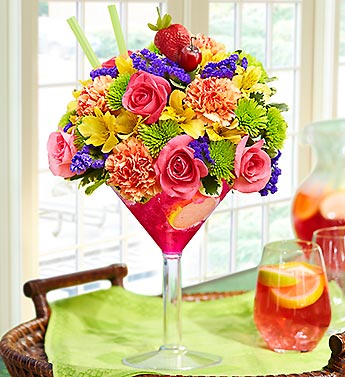 Sangria Bouquet in Bradenton FL, Ms. Scarlett's Flowers & Gifts