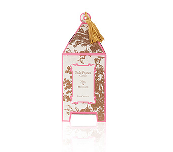 Seda France Miel & Muscade Pagoda Candle in Pine Brook NJ, Petals Of Pine Brook
