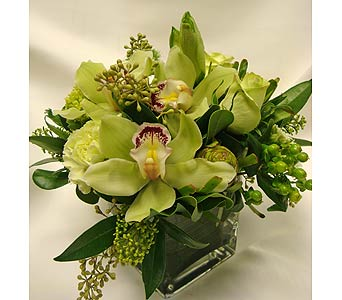 Simply Chartreuse in Victoria BC, Fine Floral Designs