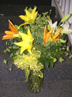 Cheerful Disposition Bouquet in Lake Charles LA, A Daisy A Day Flowers & Gifts, Inc.