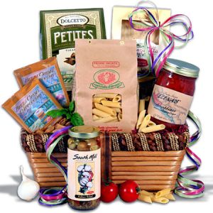 Vegetarian or Vegan  Gourmet Basket in Guelph ON, Patti's Flower Boutique