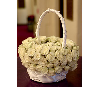 Flower Girl Basket in Atlanta GA, Buckhead Blooms