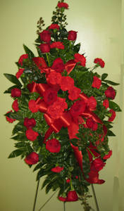 Pallbearers' Floral Tribute in Columbia TN, Doris' Flowers & Gifts