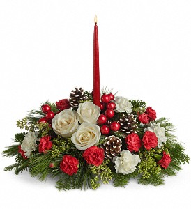Christmas Aglow in Gaithersburg MD, Flowers World Wide Floral Designs Magellans