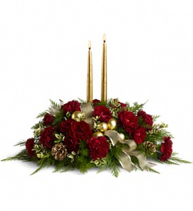 Crimson and Candlelight in Gainesville FL, Floral Expressions Florist