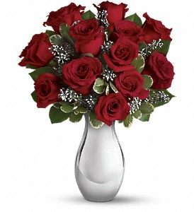 Teleflora's Winter Grace Bouquet in Grand Island NE, Roses For You!