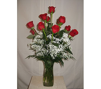 Dozen Roses in Hammond IN, Hohman Floral
