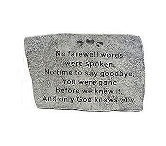 No Farewell Words in Detroit and St. Clair Shores MI, Conner Park Florist
