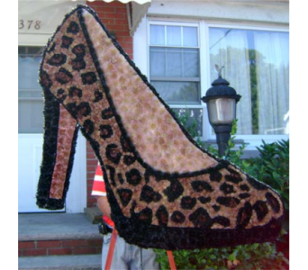LEOPARD SHOE in Brooklyn NY, David Shannon Florist & Nursery
