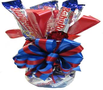 Sweetheart Candy Bouquet (Baby Ruth) in Columbus OH, OSUFLOWERS .COM