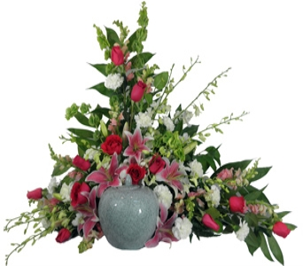 Love's Garden Cremation Setting in Indianapolis IN, Steve's Flowers & Gifts