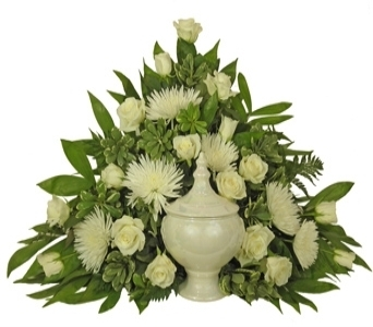 Simple Devotion Cremation Setting in Indianapolis IN, Steve's Flowers & Gifts