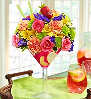 SANGRIA MARTINI in Mooresville NC, All Occasions Florist & Boutique