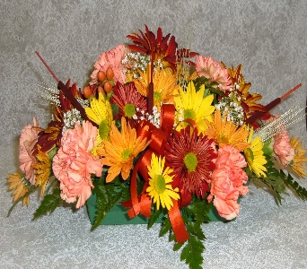 long low centerpiece in Weymouth MA, Hartstone Flower, Inc.