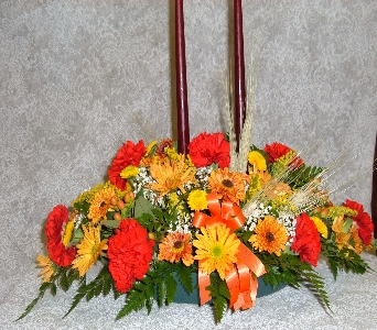 long low centerpiece delux in Weymouth MA, Hartstone Flower, Inc.