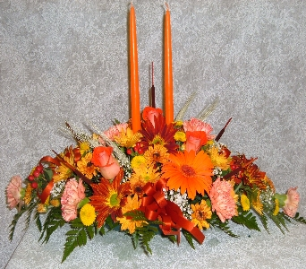 long low centerpiece supreme in Weymouth MA, Hartstone Flower, Inc.