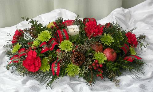 Country Christmas in Kennett Square PA, Barber's Florist Of Kennett Square