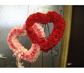 Double Heart in Staten Island NY, Sam Gregorio's Florist