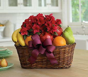Fruits and Blooms Basket in Bradenton FL, Ms. Scarlett's Flowers & Gifts