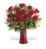 A Christmas Dozen in Big Rapids MI, Patterson's Flowers, Inc.