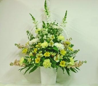 Sunlight Basket in Herndon VA, Herndon Florist, Inc