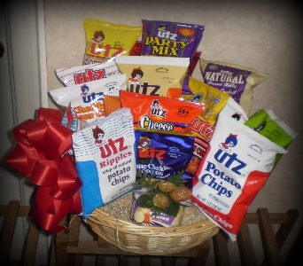 Potato Chip Gift Sampler in Hanover PA, Country Manor Florist