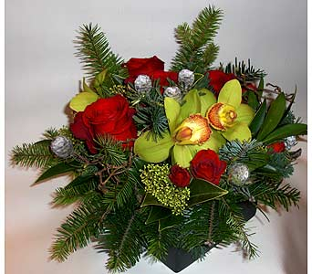Christmas Box in Victoria BC, Fine Floral Designs