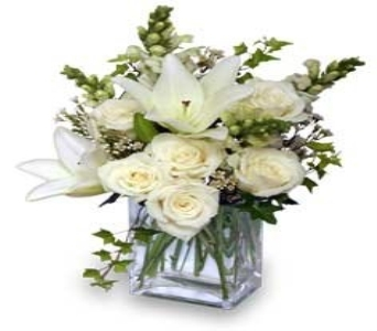wonderous whites in Bismarck ND, Dutch Mill Florist, Inc.
