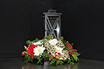Light the Way Centerpiece in Ogdensburg NY, Basta's Flower Shop