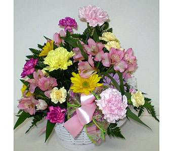 Wintertime Basket in Falmouth MA, Falmouth Florist 508-540-2020
