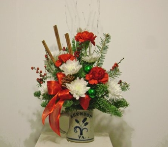 Herndon Holiday Mug in Herndon VA, Herndon Florist, Inc