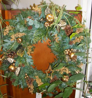 Assorted Wreaths in Arcata CA, Country Living Florist & Fine Gifts