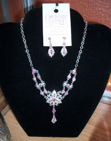 Necklace and Earrings in Arcata CA, Country Living Florist & Fine Gifts