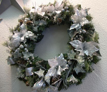 Holiday Wreath in Arcata CA, Country Living Florist & Fine Gifts