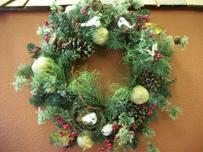 Wreath in Arcata CA, Country Living Florist & Fine Gifts
