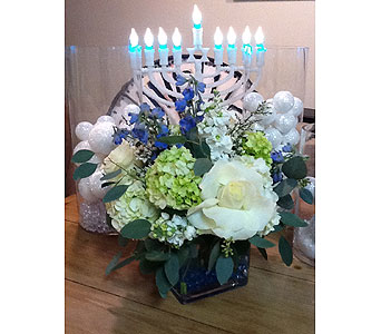 Chanukah Happiness in Massapequa Park NY, Bayview Florist & Montage  1-800-800-7304