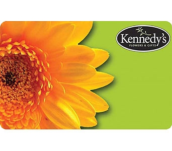 Kennedy's Gift Card in Grand Rapids MI, Kennedy's Flower Shop