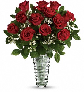 Teleflora's Beautiful Bouquet - Long Stemmed Roses in The Woodlands TX, Rainforest Flowers