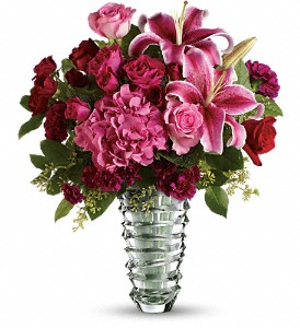 Teleflora's Swept Away - Long Stemmed Roses in Houston TX, Fancy Flowers